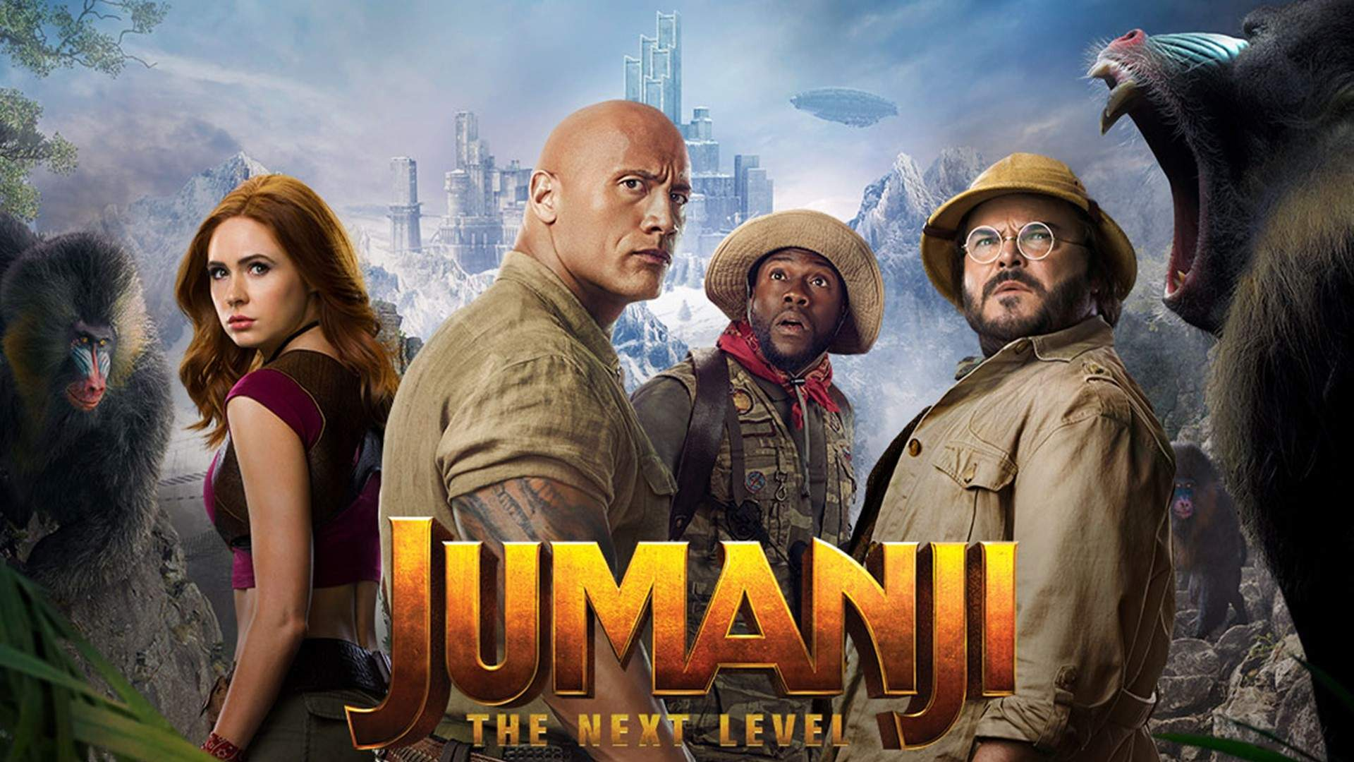 Jumanji: The Next Level (2019) Subtitle (English Srt) Download