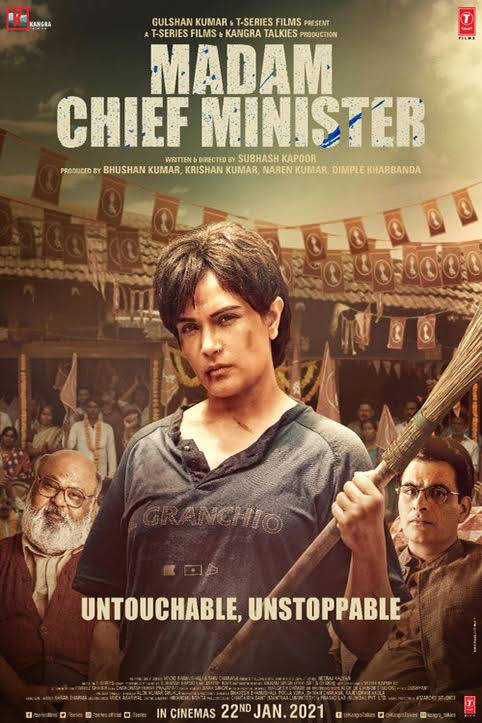 Madam Chief Minister (2021) Full Hindi Movie HD Mp4 Srt Subtitles DOWNLOAD