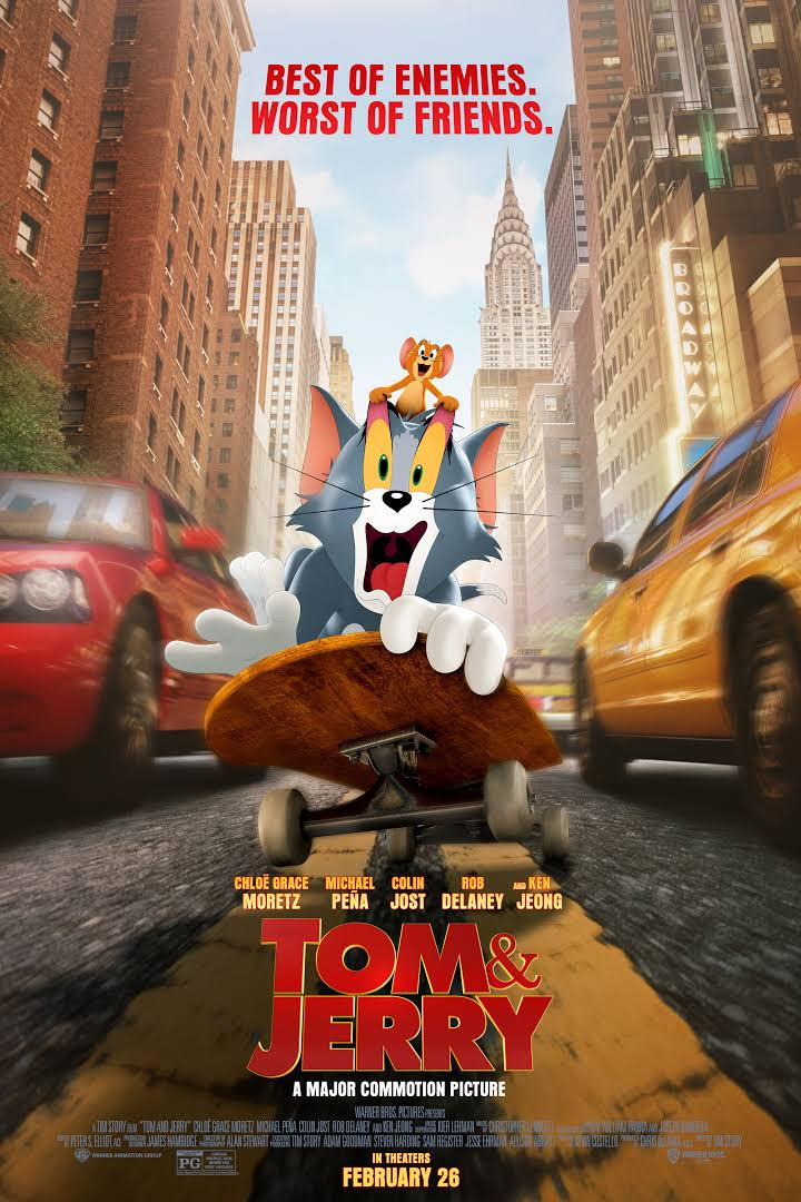 DOWNLOAD Tom and Jerry (2021) (English Srt) Full Movie Subtitles